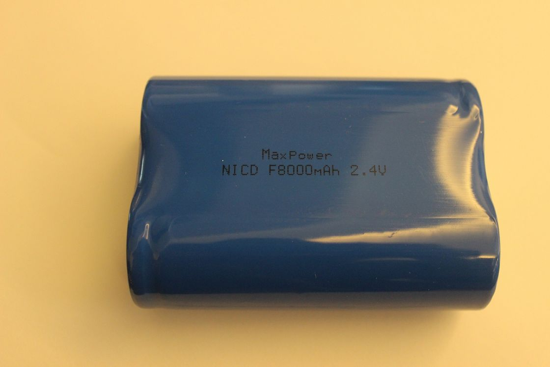 2.4V Nicd Battery Packs , F8000mAh Batteries For Wireless Microphone UL CE