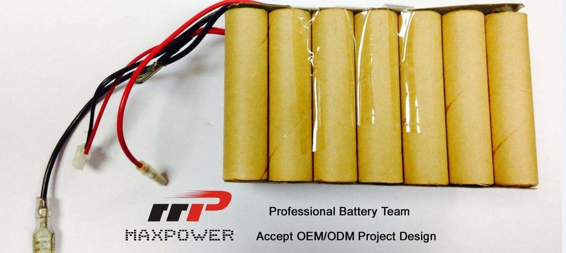 Customized NiCd Battery Packs Sub C 2000 OEM For Power Tools CE