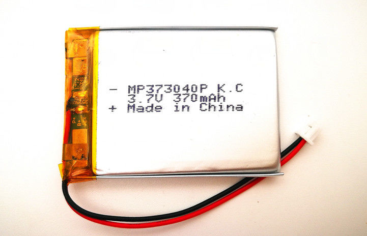 Electrical Device Rechargeable Lithium Ion Polymer Battery Pack 3.7 V 353040 370mah